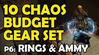 Path of Exile: Build a 10c Budget Gear Set Pt.6 - Rings & Amulets