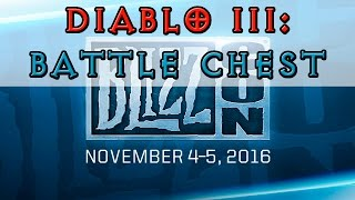 Diablo III - Battle Chest [Blizzcon 2016]