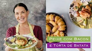 Tamboril com Bacon e Torta de Batata - Na Cozinha Com Carolina