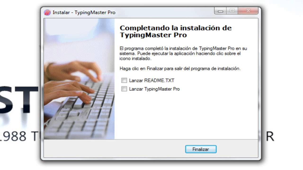 Descargar E Instalar Typing Master Pro Full Youtube