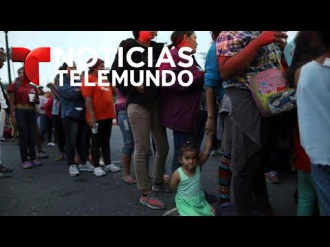 34 personas de la caravana detenidas en Tijuana por supuestos delitos | Noticiero | Telemundo
