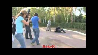 Russian Camera men goes Crazy wedding Fight