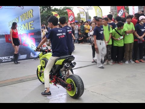 Honda Battle Day..( Msx Modified ) in Cambodia. DBS ( Dreambike Store )