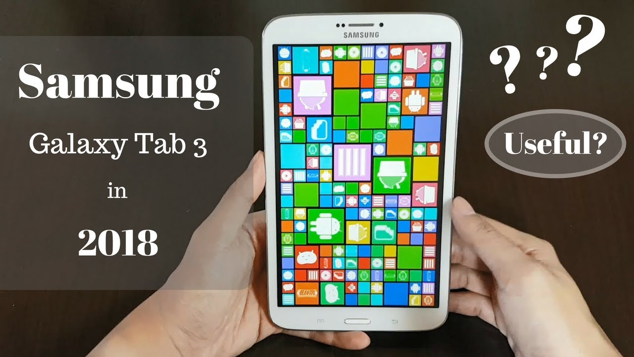 Samsung Galaxy Tab 3 in 2018 || carrot everything
