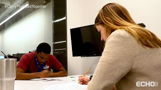 Echo Global Logistics Partners with Griffith Tutoring to Mentor Students
