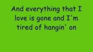 Sitting at a Bar-Rehab Lyrics
