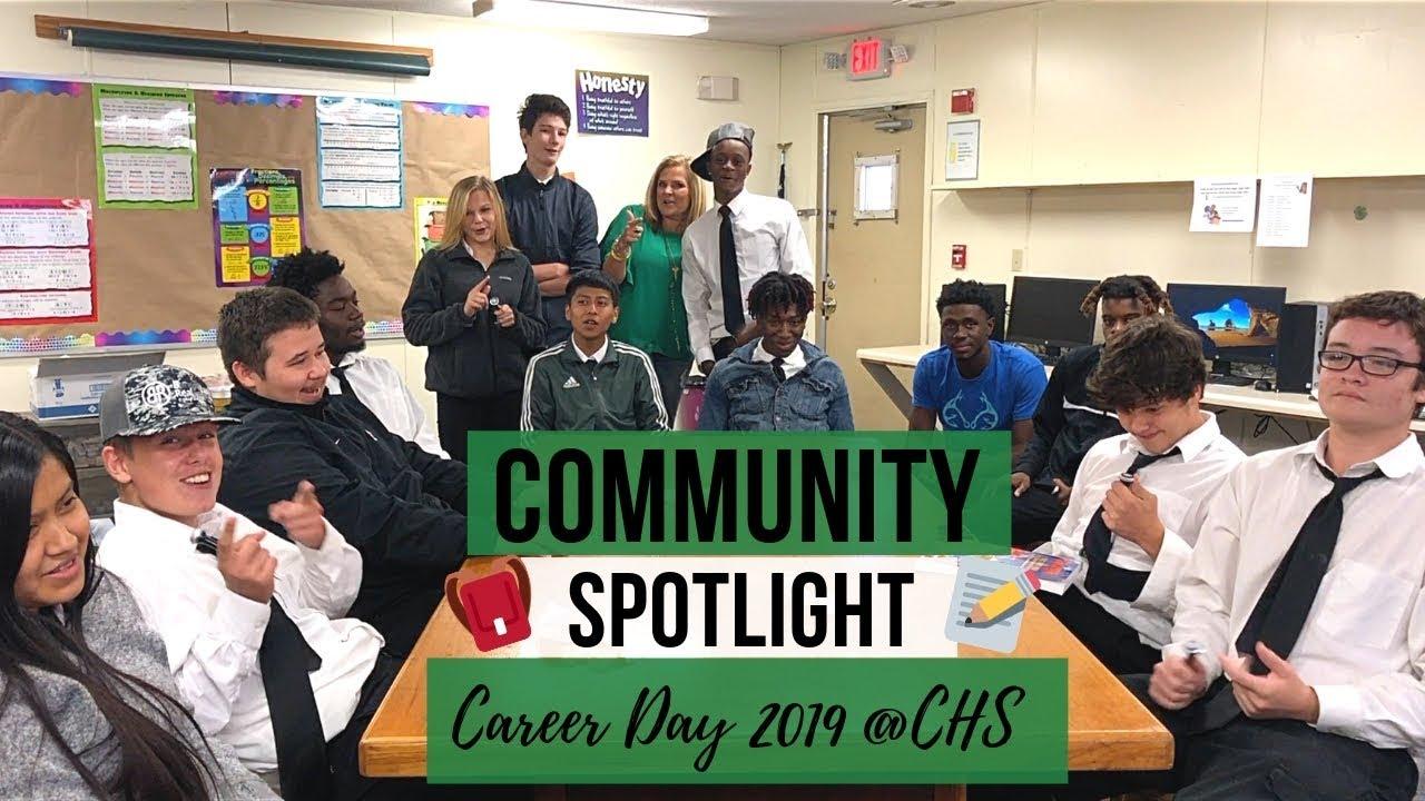 Community Spotlight: Career Day Cairo High School