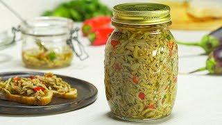 Маринованные баклажаны в масле.  Итальянская кухня. Заготовки на зиму. Рецепт от Всегда Вкусно!