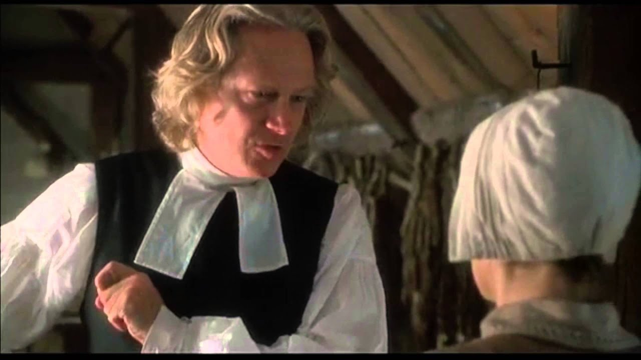 characterization of reverend samuel parris in the crucible Parris is the reverend of the church and the first impression is that 'there is very   in the very first scene, we see him standing over his daughter betty's sick bed.