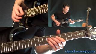 Hells Bells Guitar Lesson Pt.1 - AC/DC - All Riffs