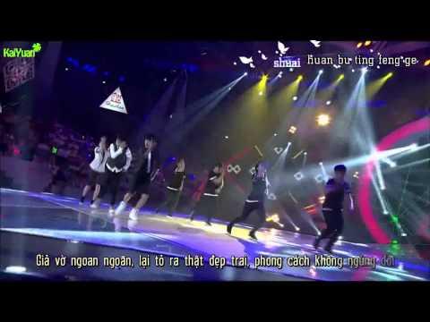 [KaiYuan][Vietsub-Kara]Cẩm nang tôi luyện thanh xuân |Live|- TFBOYS