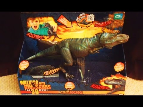 Ultimate Gorgon Gorgosaurus - Review and Unboxing Walking with Dinosaurs 3D