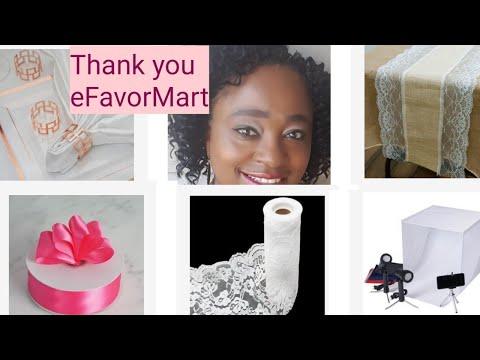 Home decor haul|Craft supplies and tech gear|efavormart affiliate program|Mrs Vee
