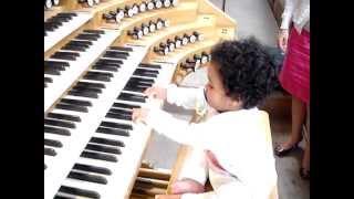 Baby at the organ