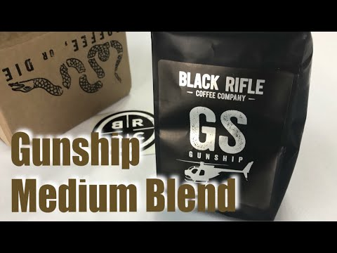 Gunship Medium Roast Blend Coffee From The Black Rifle Coffee Company Review