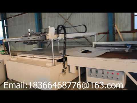 four post silk screen printing machine