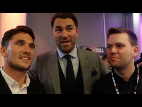 THE PEOPLE BEHIND ANTHONY JOSHUA -INTRODUCING FREDDIE CUNNINGHAM & ANDY BELL -FEAT EDDIE HEARN