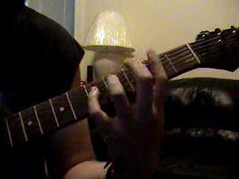 How to play Dyers Eve by Metallica Guitar Lesson