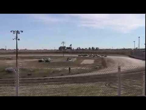 Dwarf car crash I-76 speedway 10-6-2013