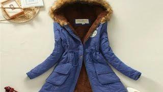 Посылка с aliexpress. Женская осенняя курточка ( Парка )