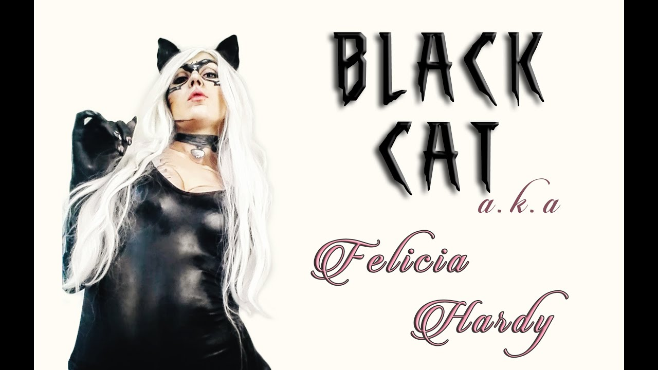 Felicia Hardy/ Black Cat make up/ face painting/ transformation (Spiderman MARVEL) | Making Hell  sc 1 st  YouTube & Felicia Hardy/ Black Cat make up/ face painting/ transformation ...