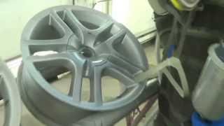 Интересная покраска автомобильных дисков(, 2014-12-20T20:30:00.000Z)