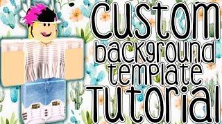 Custom Background Template Tutorial    ROBLOX