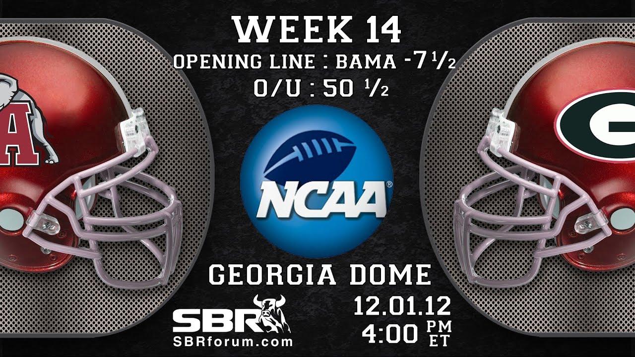 2012 SEC Championship Game - Georgia vs. Alabama