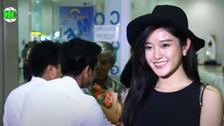 Vietnamese Actress & Model, Nguyen Tran Huyen My Arrived Yangon