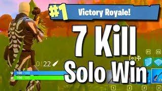 Enorme top 1 Fortnite 7 kills au sniper