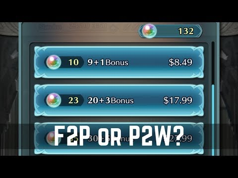 F2P or P2W in Fire Emblem Heroes? My Thoughts on Buying Orbs! | Live Streamed �Fire Emblem Heroes】
