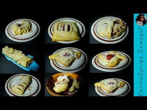 Puff pastry Ideas | kids snack | CuriouSpriya Samayal