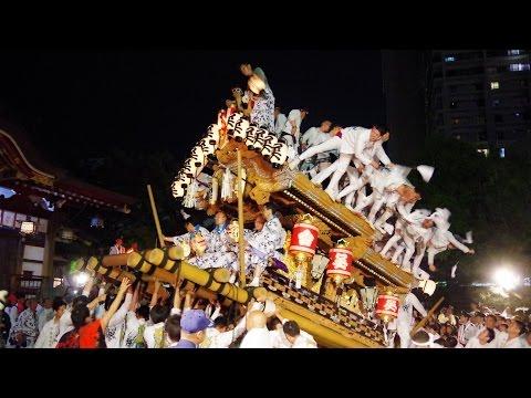 平成28年 本住吉神社祭礼 宮入 呉田區 東灘だんじり祭り 2016/05/05(木)