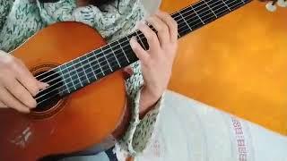 Au milieu de l'immensité (guitar solo)(video) by Lilith Guegamian