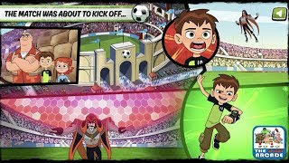 Ben 10: Penalty Power - Ben gets so close to having the Perfect Game (Cartoon Network Games)