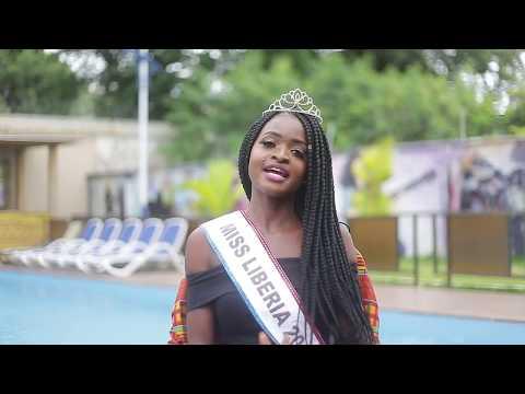 Miss Liberia 2016/ 2017 (Wokie Dolo) Trip to Ghana