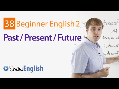 How to Express English Past  Present  Future