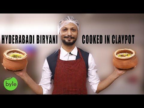 Authentic Hyderabadi Dum Biryani Cooked in Clay Pot   Mutton Biryani   Chicken Biryani