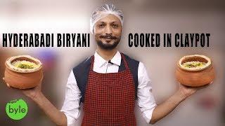 Authentic Hyderabadi Dum Biryani Cooked in Clay Pot | Mutton Biryani | Chicken Biryani