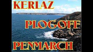 Kerlaz, Douarnenez, Pointe du Raz, Plogoff, Esquibien, Penhors, Pointe Penmarch [HD]