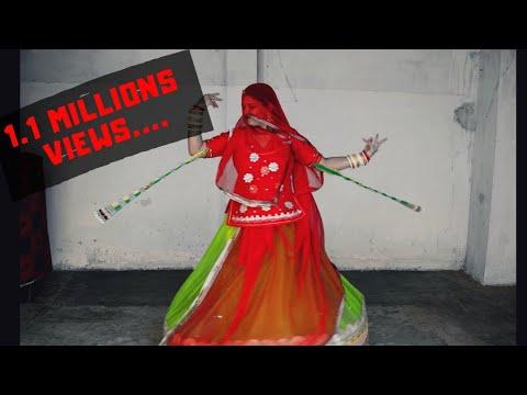 HIWADE RO HAAR || RAJASTHANI GHOOMAR DANCE BY MEENAXI SHEKHAWAT || LANGA STYLE || FEAT. AJIT SINGH