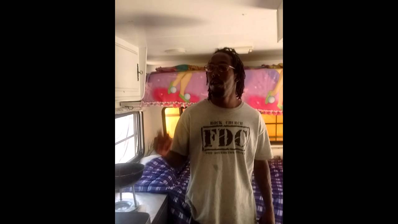 Black people living in a rv full Time