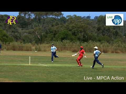 Live from Greg Beck Oval. Baxter v Sorrento in MPCA Action Sorrento Batting