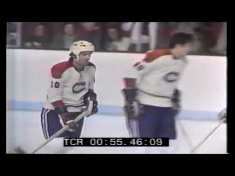 1972 02 10 Guy Lafleur vs Chicago Black Hawks Goal 19 of the Season