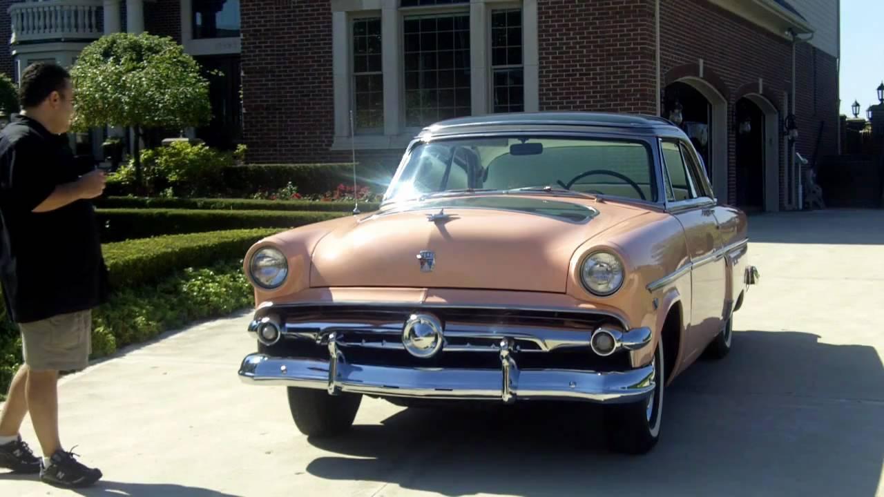 1954 Ford Crestline Skyliner Demonstrater Hood Classic Car for ...