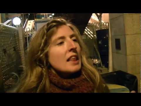 Occupy Dame Street Dublin Ireland Central Bank  Poem 4.MP4