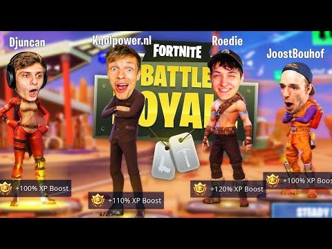 NIEUWE SQUAD IN STEADY STORM!! - Fortnite #133