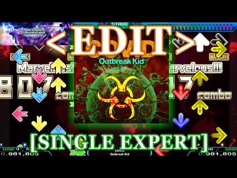 【DDR XX / EDIT】 COVID [SINGLE EXPERT] Lv.18