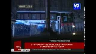 5th year of Manila Hostage Crisis, commemorated