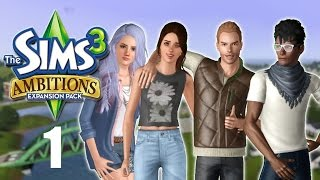 Let's Play: The Sims 3 Ambitions | Part 1 | The Professionals